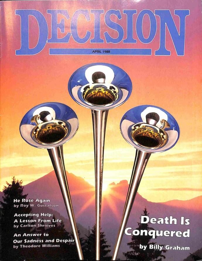 Decision Magazine, April 1988
