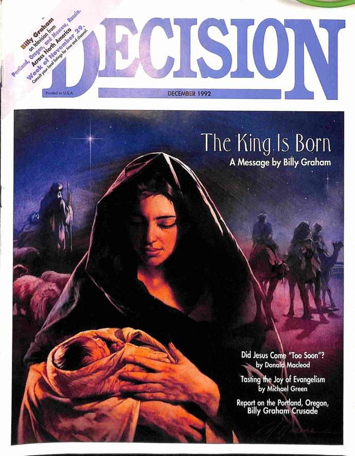 Decision Magazine, December 1992