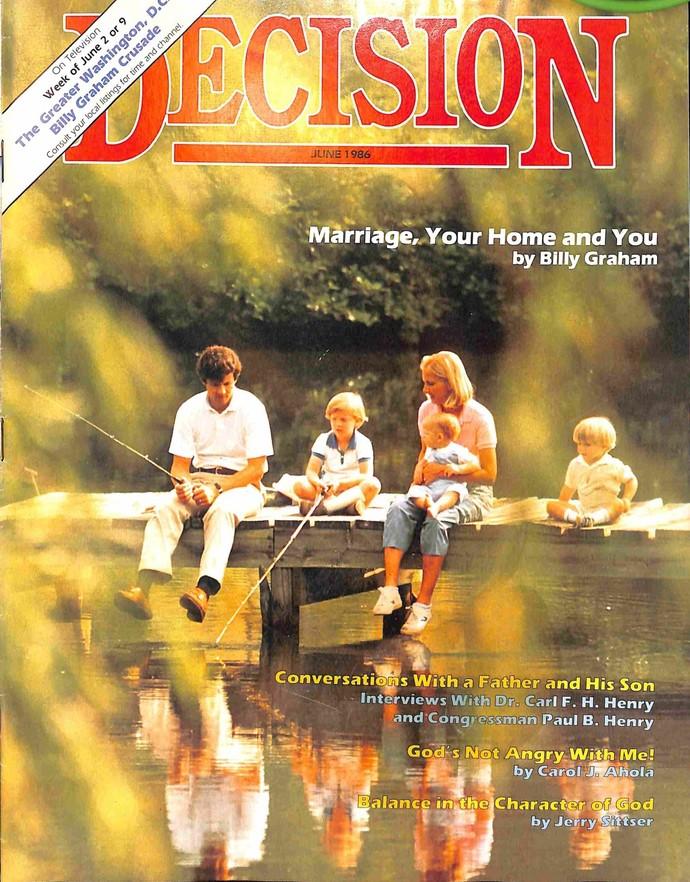 Decision Magazine, June 1986