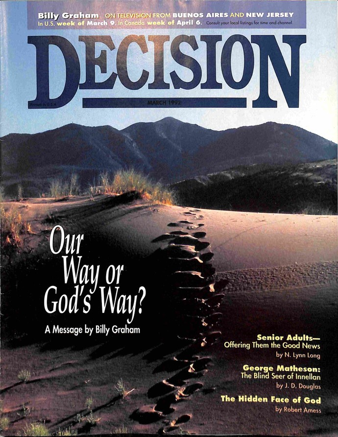 Decision Magazine, March 1992