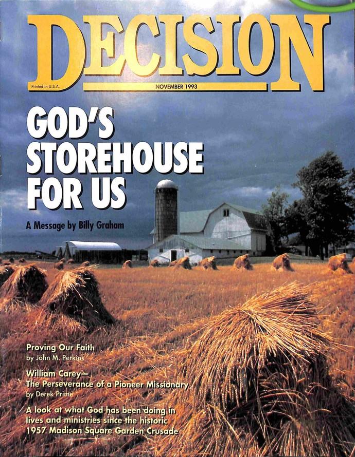 Decision Magazine, November 1993