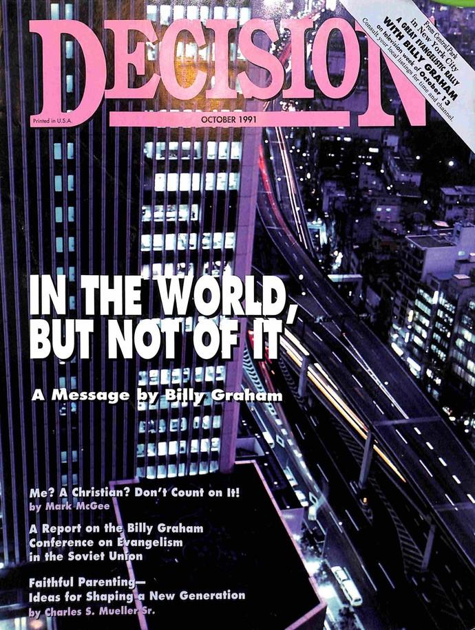 Decision Magazine, October 1991