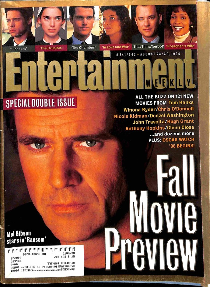 Entertainment Weekly, August 23 1996