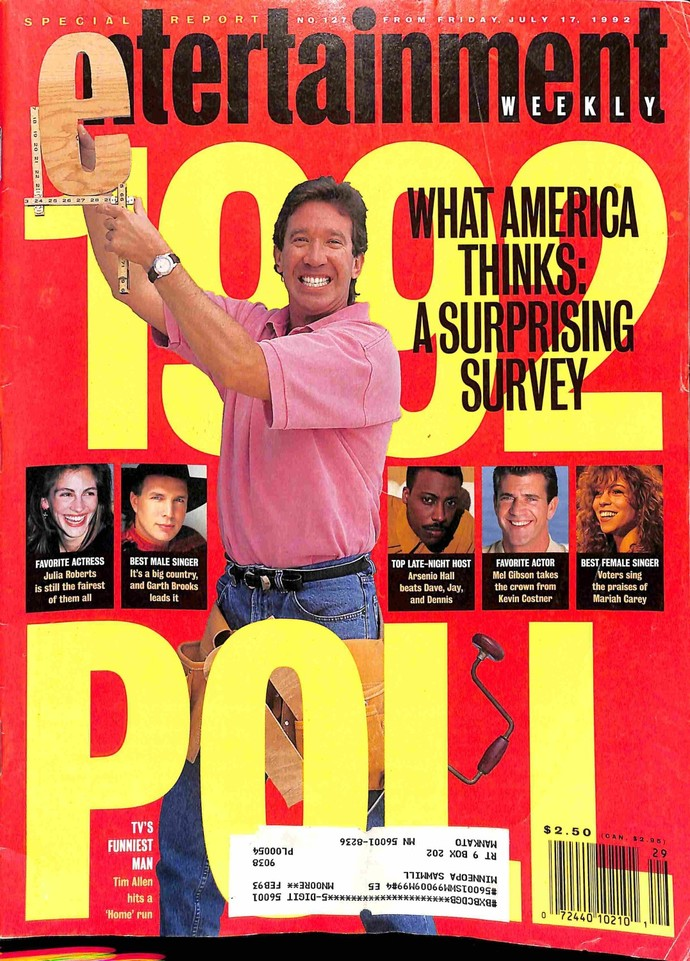 Entertainment Weekly, July 17 1992