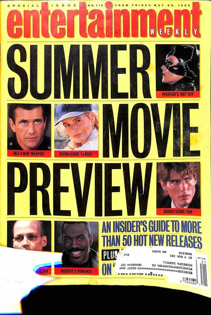 Entertainment Weekly, May 22 1992