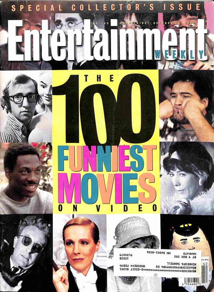 Entertainment Weekly, October 16 1992
