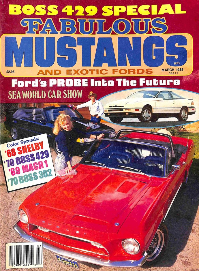 Fabulous Mustangs and Exotic Fords Magazine, March 1988