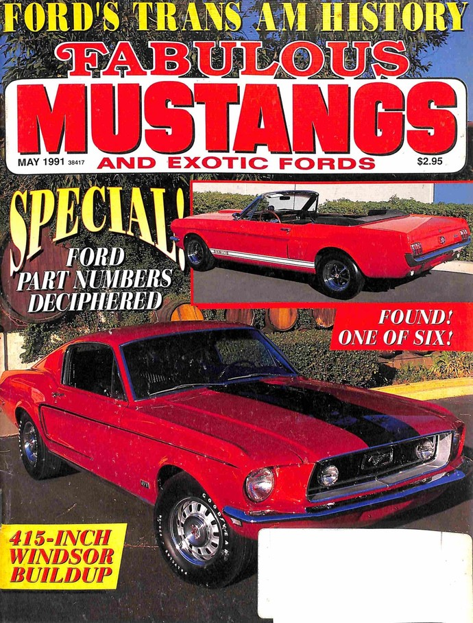 Fabulous Mustangs and Exotic Fords Magazine, May 1991