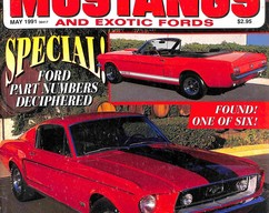 Item collection fabulous mustangs and exotic fords magazine may 1991 2014 04 13 11 04 16