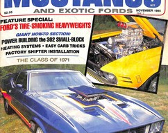 Item collection fabulous mustangs and exotic fords magazine november 1985 2014 04 13 11 31 23