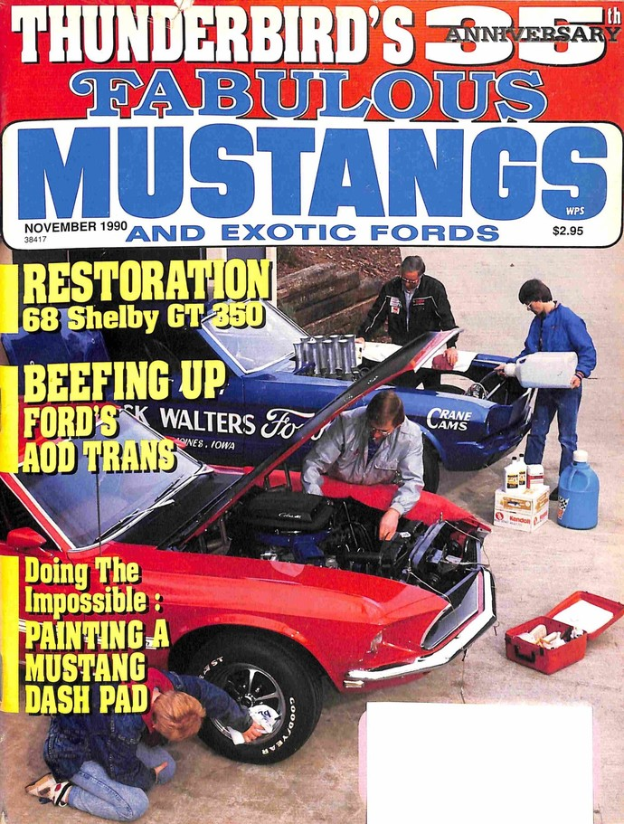 Fabulous Mustangs and Exotic Fords Magazine, November 1990