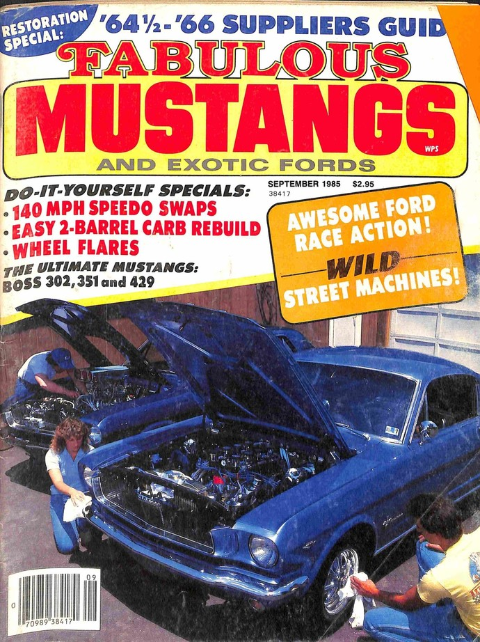 Fabulous Mustangs and Exotic Fords Magazine, September 1985