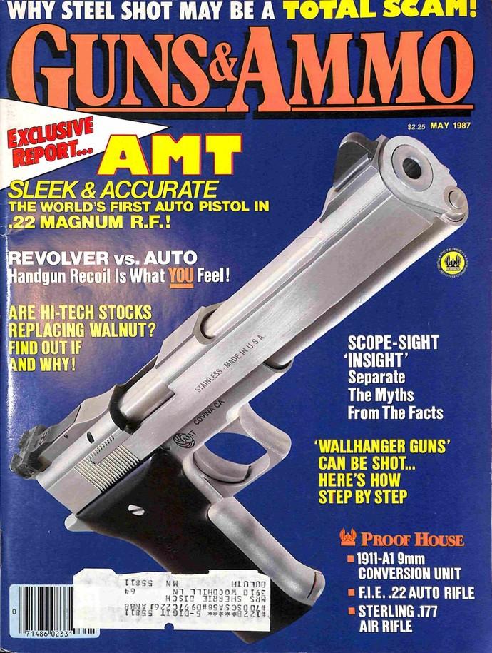 Guns and Ammo, May 1987