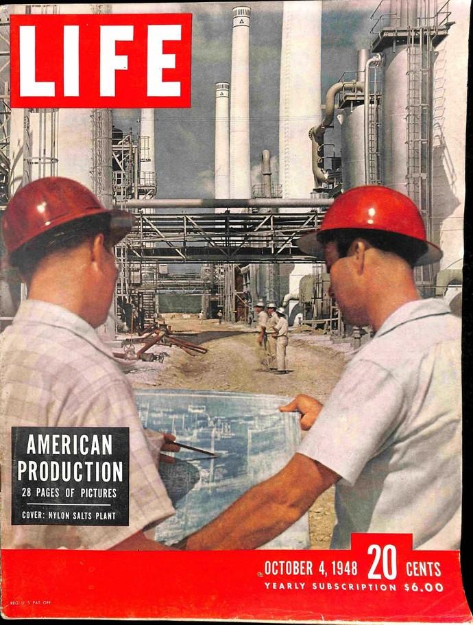Life Magazine, October 4 1948
