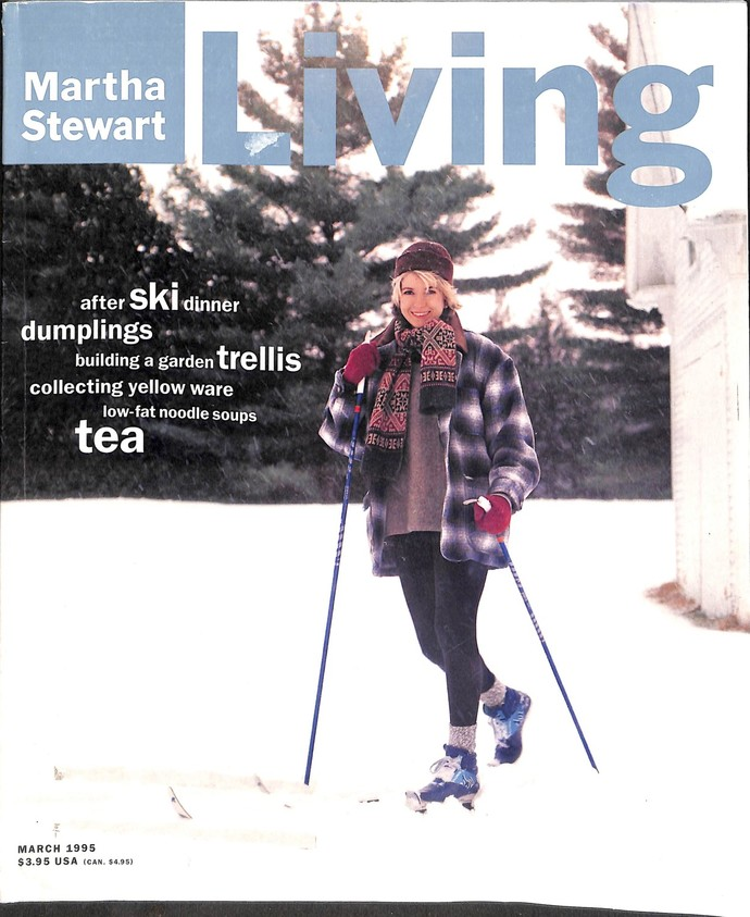 Martha Stewart Living Magazine, March 1995