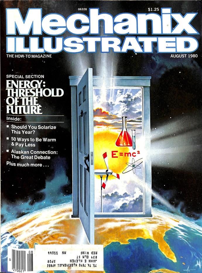 Mechanix Illustrated Magazine, August 1980