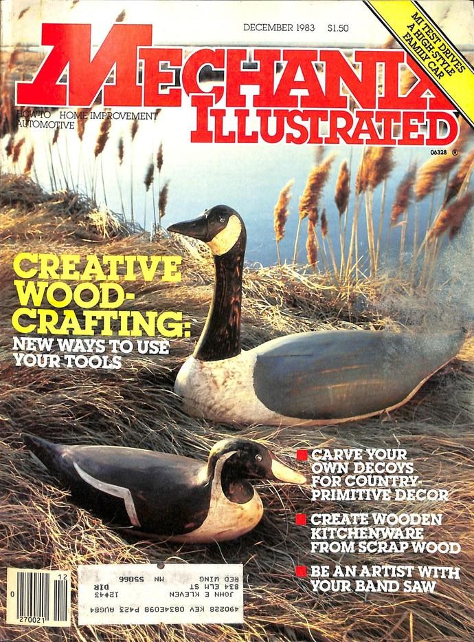 Mechanix Illustrated Magazine, December 1983