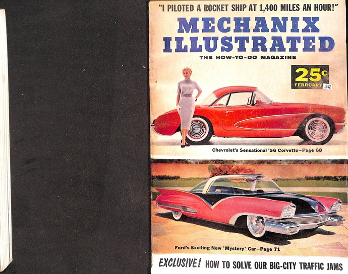 Mechanix Illustrated Magazine, February 1956