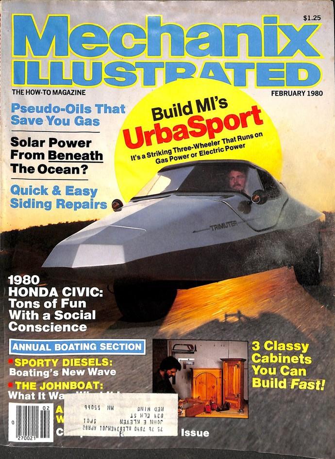 Mechanix Illustrated Magazine, February 1980