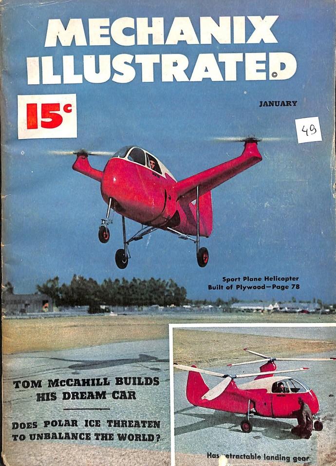 Mechanix Illustrated Magazine, January 1949