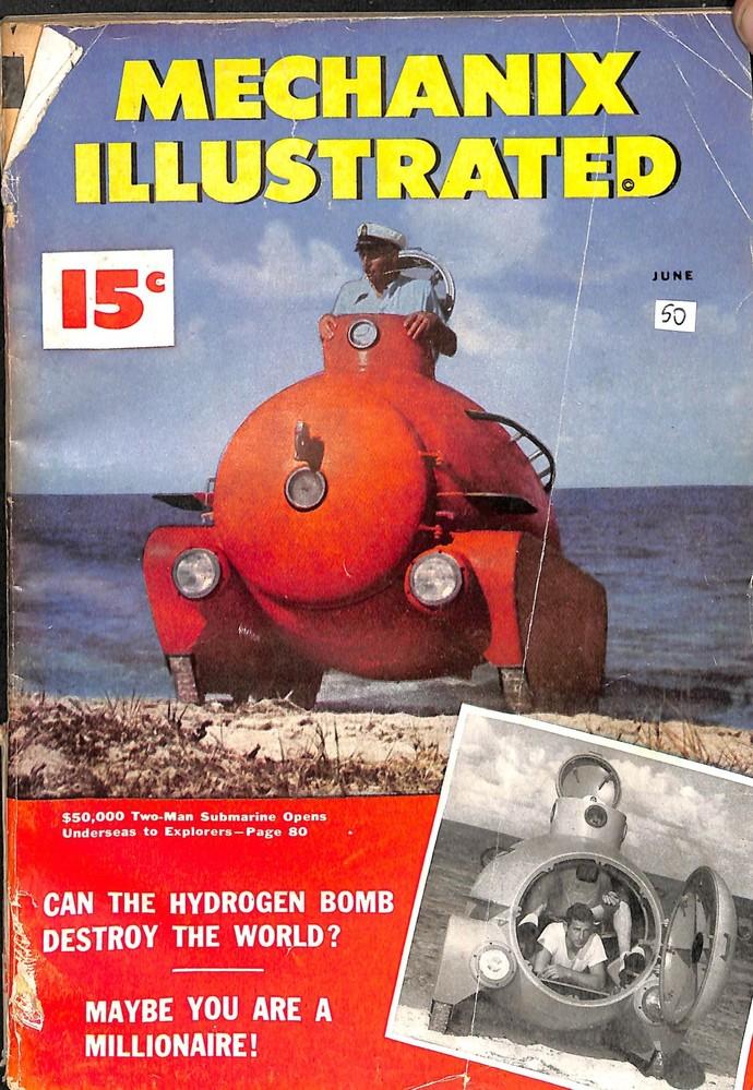 Mechanix Illustrated Magazine, June 1950