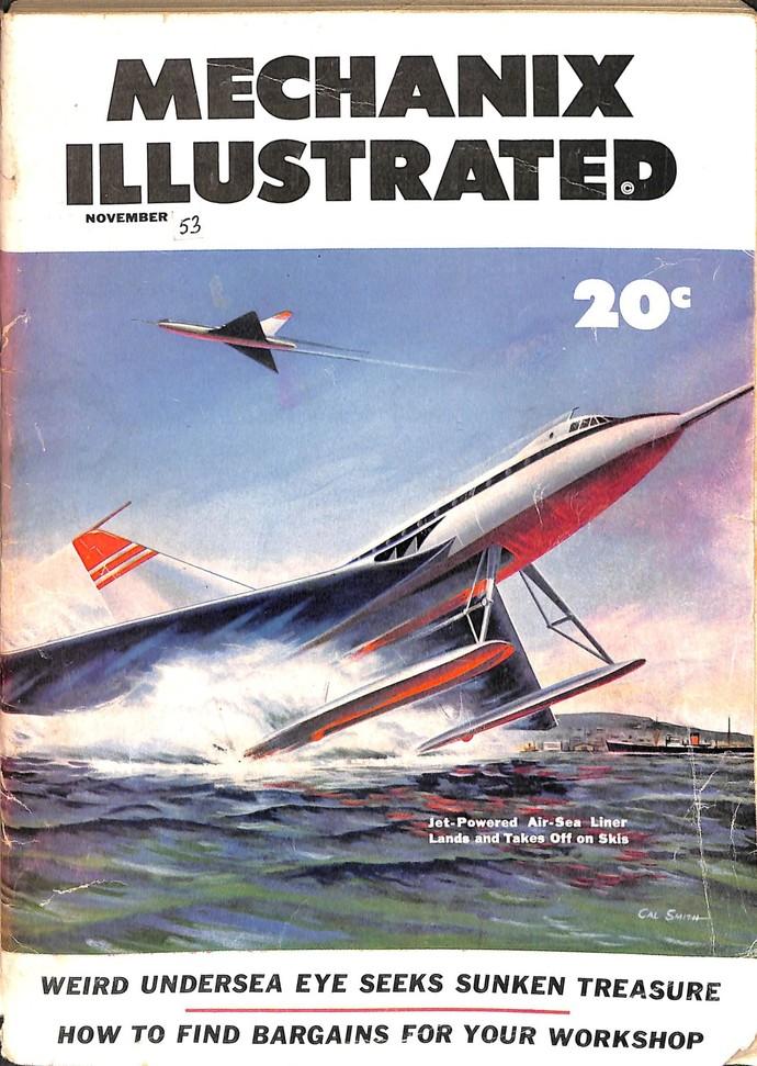 Mechanix Illustrated Magazine, November 1953
