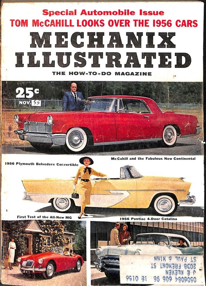 Mechanix Illustrated Magazine, November 1955
