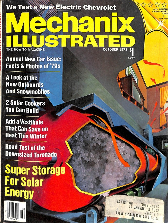 Mechanix Illustrated Magazine, October 1978