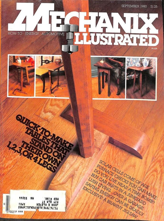 Mechanix Illustrated Magazine, September 1980