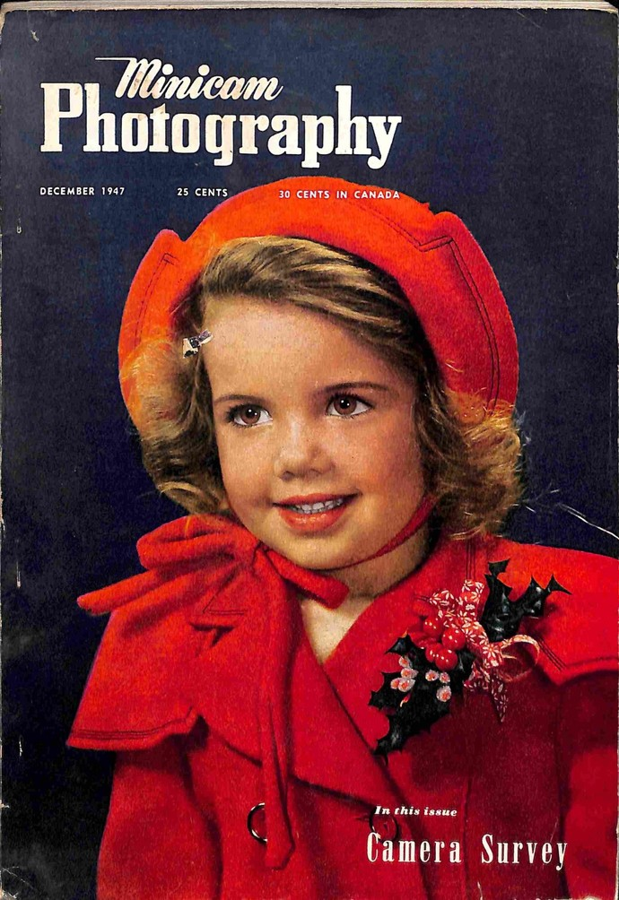Minicam Photography Magazine, December 1947