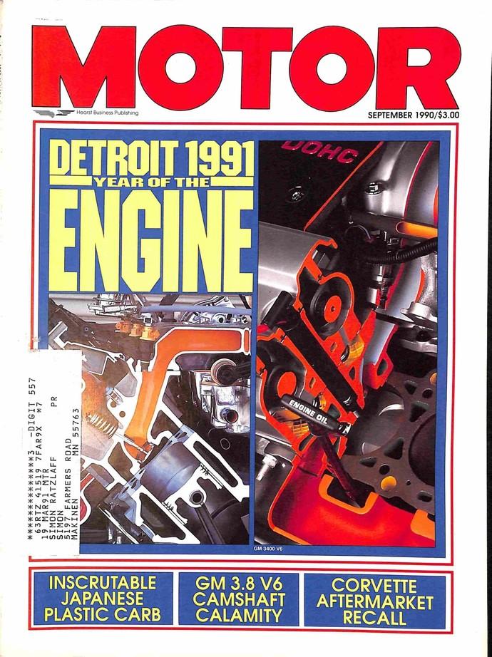 Motor Magazine, September 1990