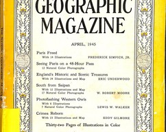Item collection national geographic magazine april 1945 2014 03 24 09 29 45