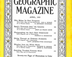 Item collection national geographic magazine april 1955 2015 07 29 16 14 05