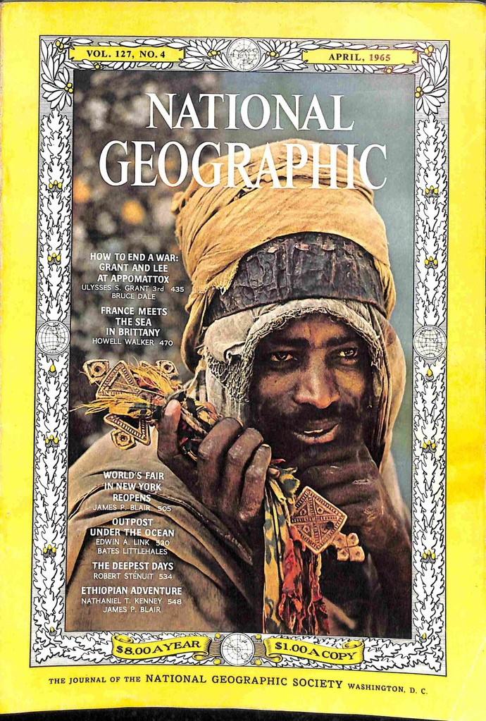 National Geographic Magazine, April 1965