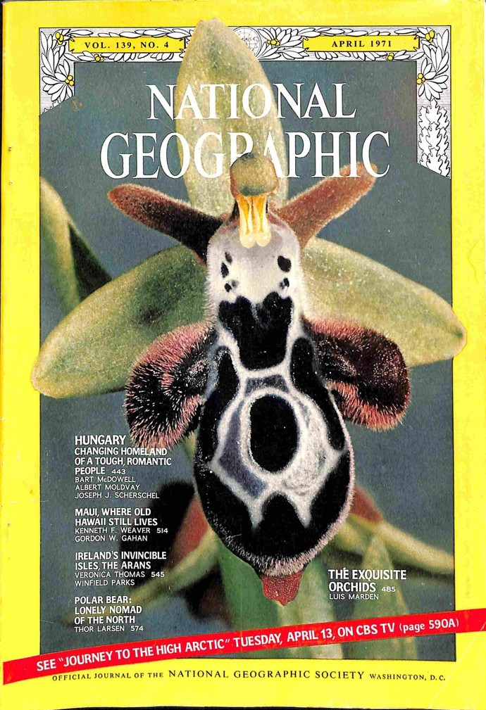 National Geographic Magazine, April 1971