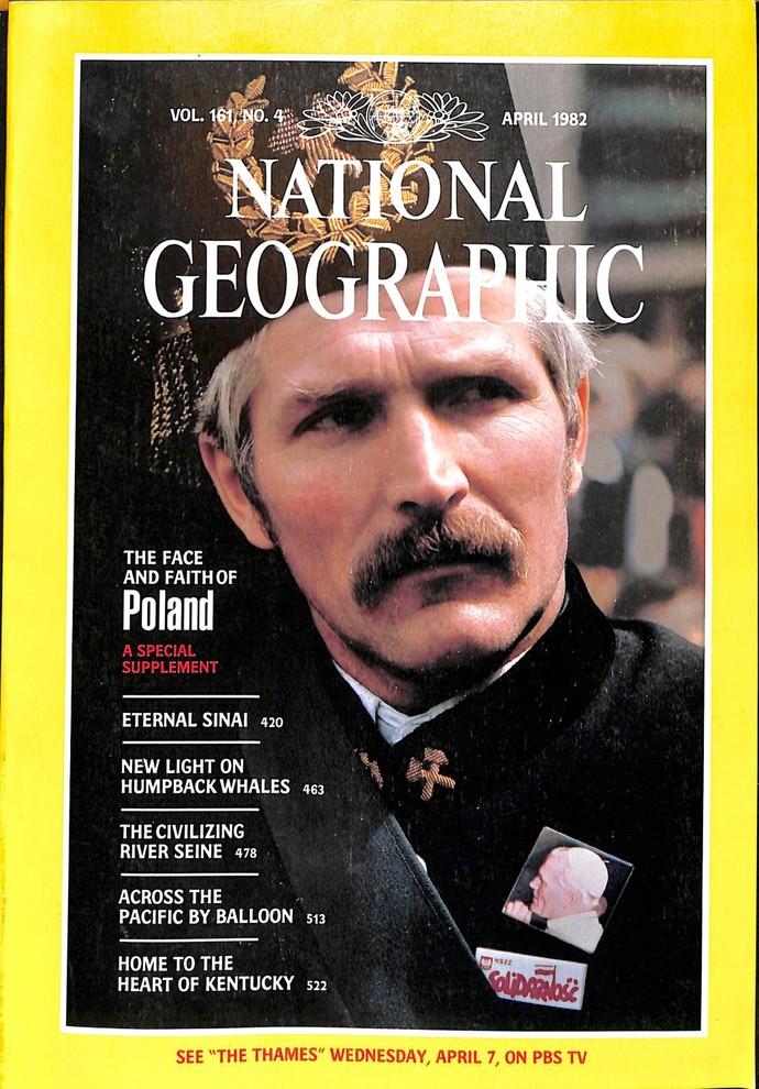 National Geographic Magazine, April 1982