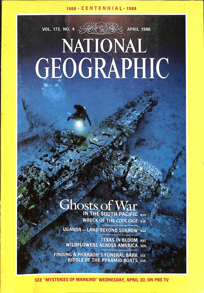 National Geographic Magazine, April 1988