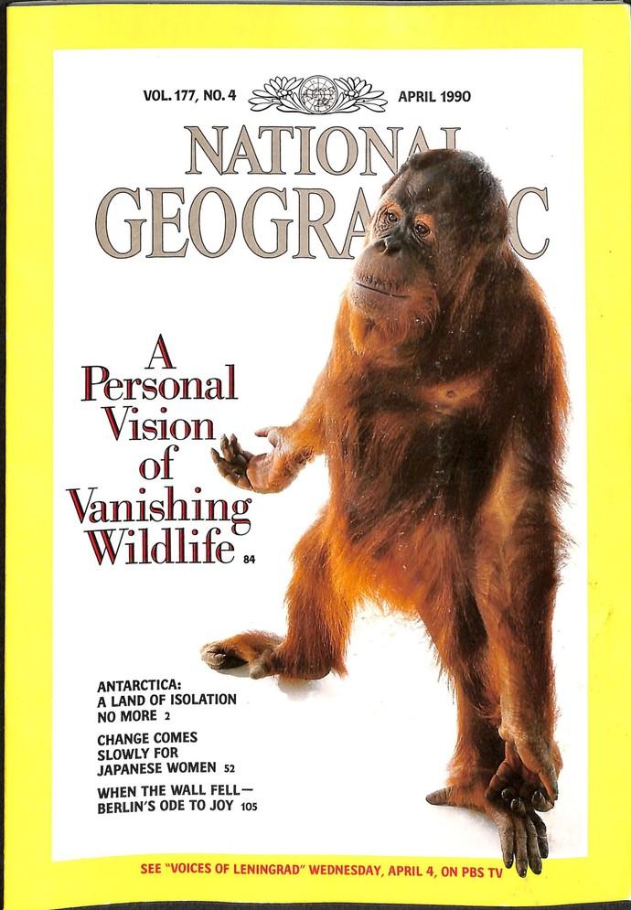 National Geographic Magazine, April 1990