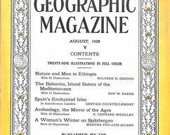Item collection national geographic magazine august 1928 2015 06 25 16 20 56