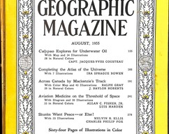 Item collection national geographic magazine august 1955 2014 03 24 10 14 37