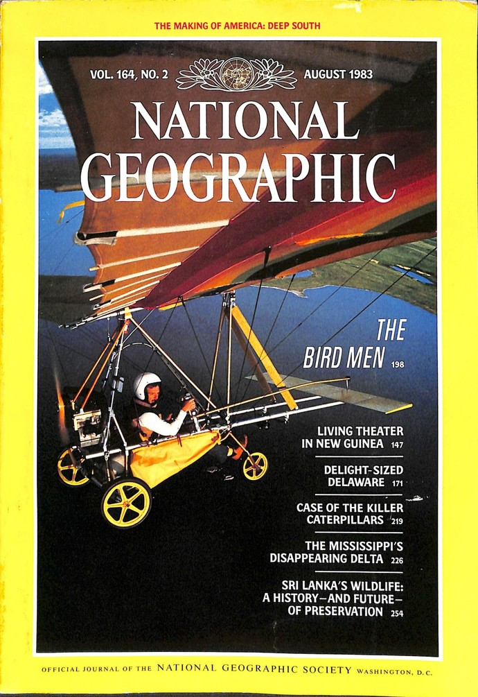 National Geographic Magazine, August 1983