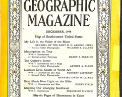 Item collection national geographic magazine december 1948 2014 03 24 10 01 29