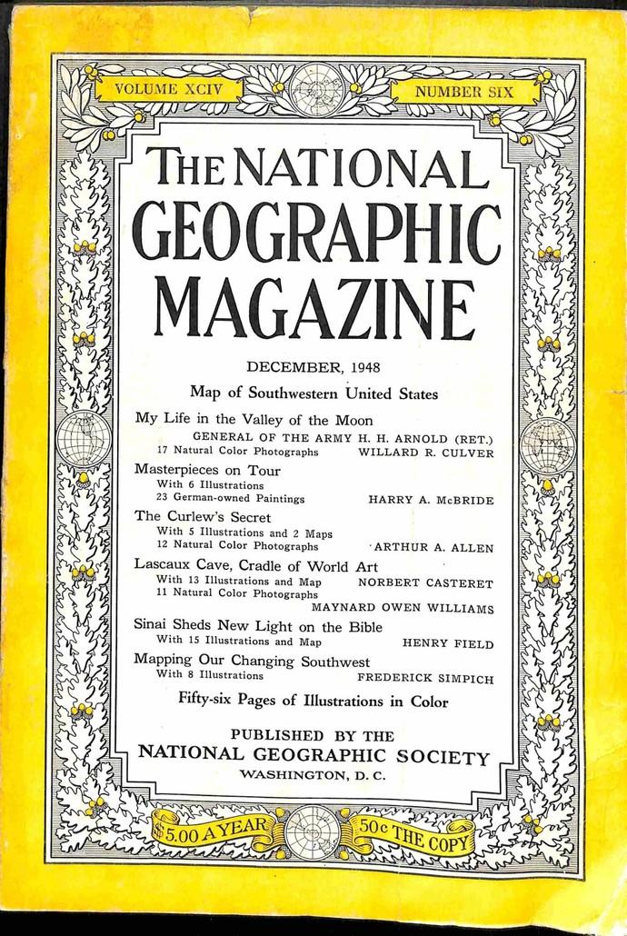 National Geographic Magazine, December 1948
