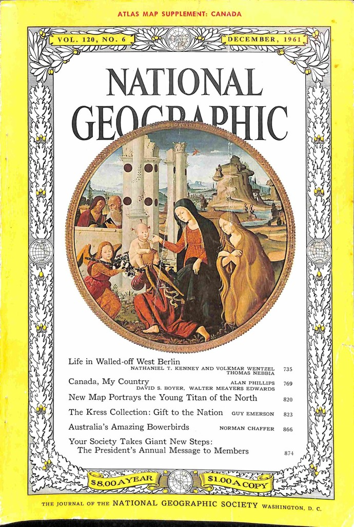National Geographic Magazine, December 1961