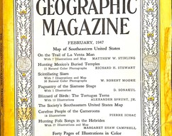 Item collection national geographic magazine february 1947 2014 03 24 09 46 28