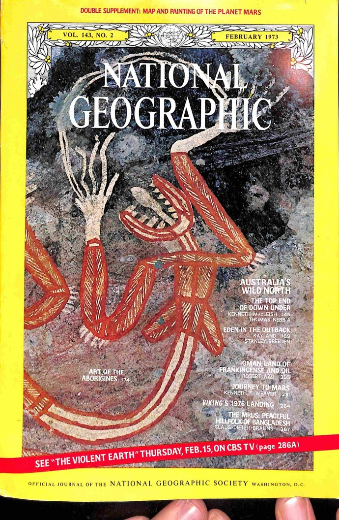 National Geographic Magazine February 1973 By Meremartcom On Zibbet