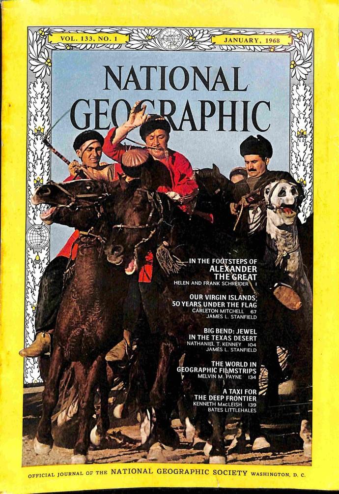 National Geographic Magazine, January 1968