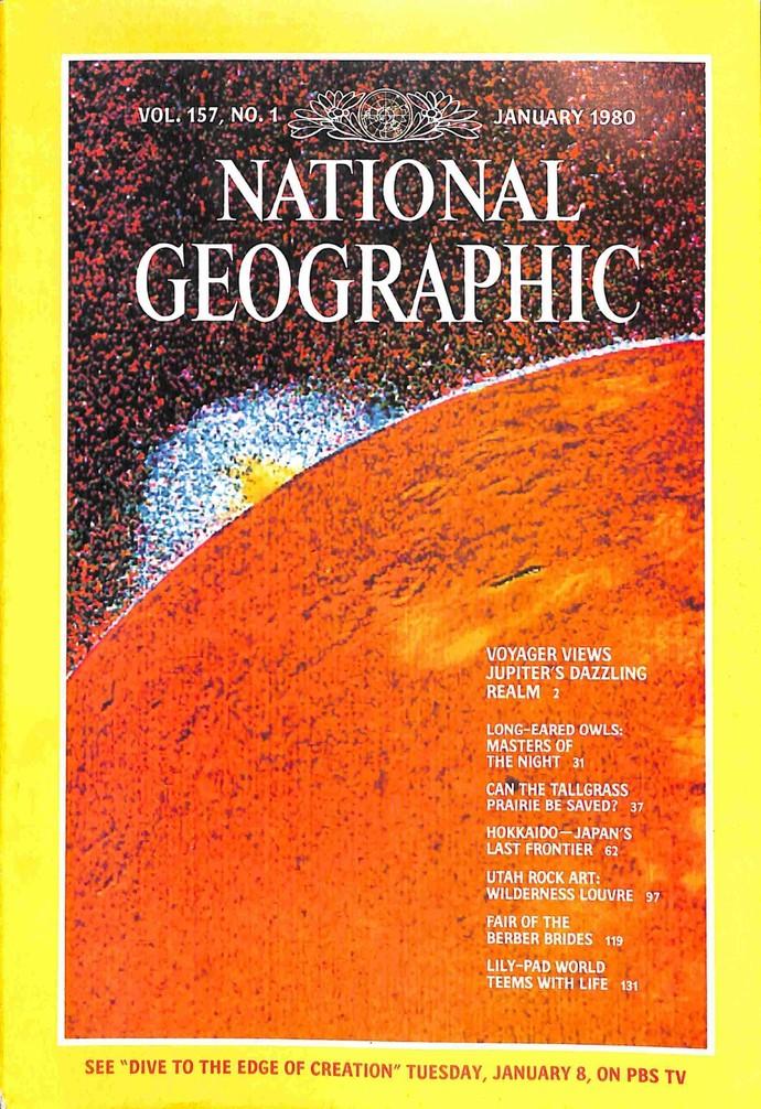 National Geographic Magazine, January 1980
