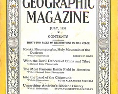 Item collection national geographic magazine july 1931 2015 06 25 16 20 45