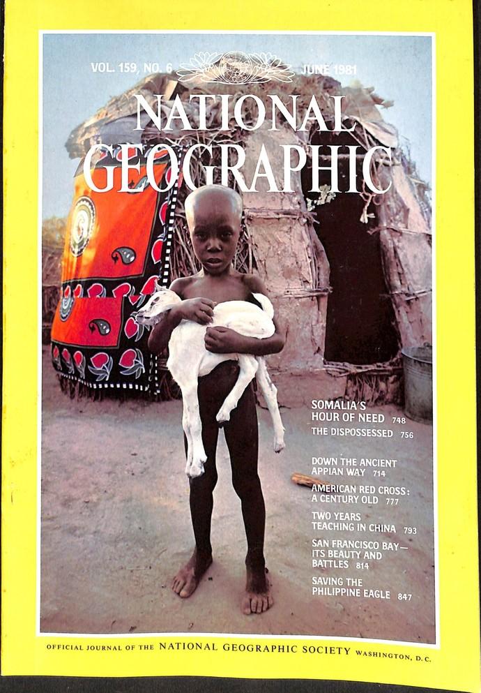 National Geographic Magazine, June 1981